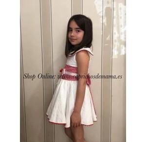 Vestido niña Ciprés de Badum Badero
