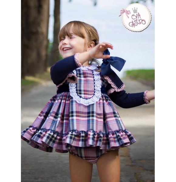 41be1be32 Jesusito bebé niña Dixie de Eva Castro   Ropa Infantil