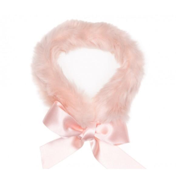 Cuello pelo niña de Eve Children rosa