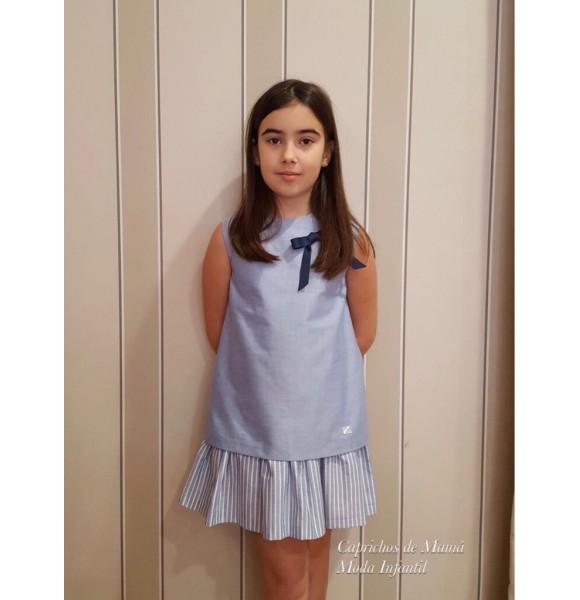 Vestido niña de Eve Children combinado