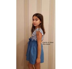 Camiseta y falda niña de Eve Children
