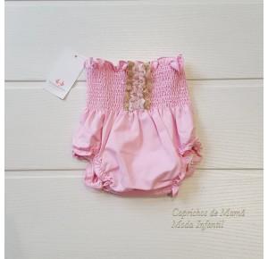 Cubrepañal bebé niña Chupa Chup rosa de Sonia Roura