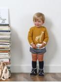 Conjunto bebé niño de Foque jersey mostaza