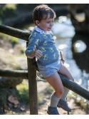 Conjunto bebé niño Donald de La Martinica gris