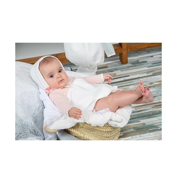 Jesusito bebé niña Poemas de Yoedu rosa empolvado