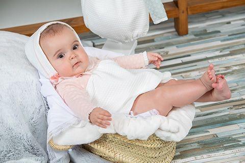 c01e33535b4f Jesusito bebé niña Poemas de Yoedu rosa empolvado | Ropa Infantil
