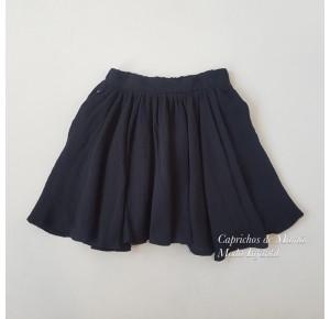 Falda niña de Mía y Lía bámbula negra