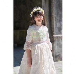 Vestido niña comunión Marta de Badum Badero