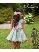 Vestido niña Pomposa de Lolittos liberty