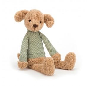 Peluche perrito con jersey verde de Jellycat