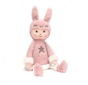 Peluche muñeco conejo rosa de Jellycat
