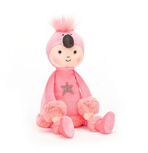 Peluche muñeco flamenco rosa de Jellycat