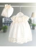 Jesusito bebé niña de Valentina Bebés puntilla marfil