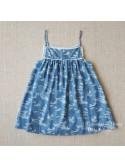 Braguita niña de Mía y Lía camuflaje azul