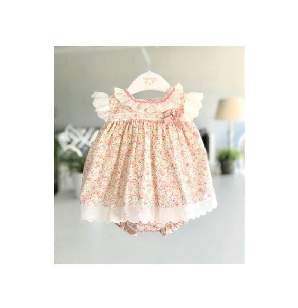 Jesusito bebé niña de Valentina Bebés flores rosa