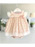 Jesusito bebé niña de Valentina Bebés florecitas rosa
