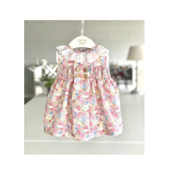 Vestido bebé niña de Valentina Bebés flores