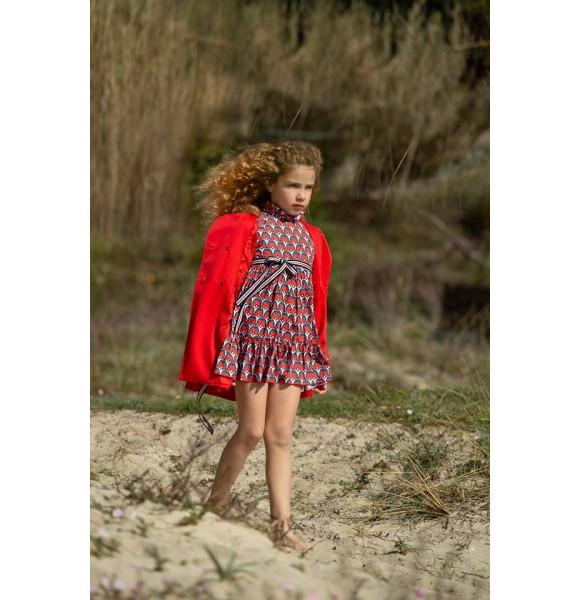 Vestido niña Mariposas de Badum Badero