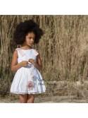 Vestido niña Algodón de Badum Badero troquelado