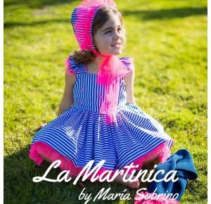 Jesusito niña Bitter Kas de La Martinica rosa flúor