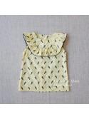 Camisa niña de Baby Yiro estampado tucanes