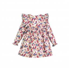 Vestido niña Wild de Eve Children estampado animales