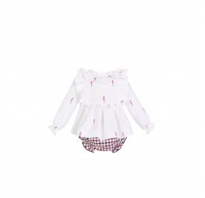 Conjunto bebé niña British de Eve Children