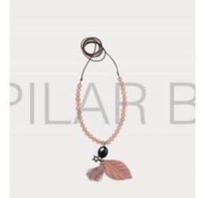 Collar niña de Pilar Batanero piedras nude