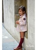 Jesusito niña Vulcano de Noma Fernández estampado