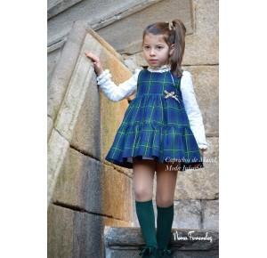 Conjunto niña Orión de Noma Fernández pichi y blusa