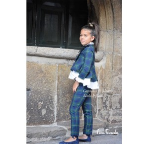 Conjunto niña Orión de Noma Fernández pantalón y blusón