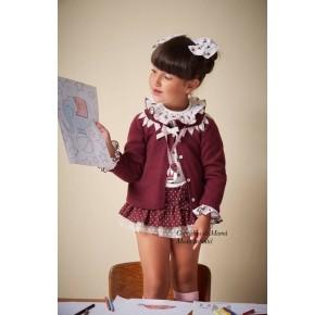 Conjunto niña Zoe de Eva Castro camisa y bombacho