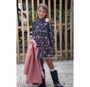 Vestido niña Olivia de Eva Castro estampado flores