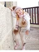 Mono y camisa niña Espinete de Lolittos arena