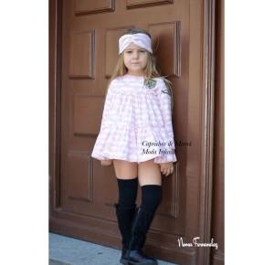 Jesusito niña René de Noma Fernández rosa y blanco