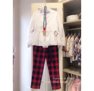 Conjunto niña Glasgow de Noma Fernández pantalón largo