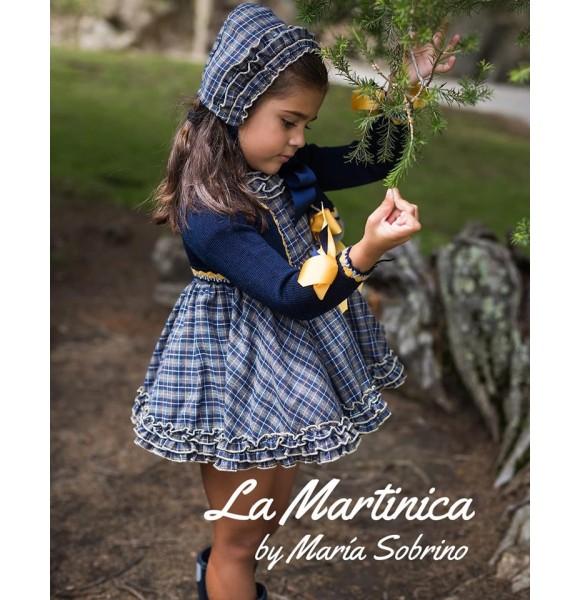 Jesusito niña Moscú de La Martinica gris y marino