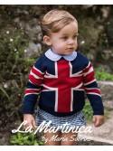Conjunto bebé niño Buckinham de La Martinica