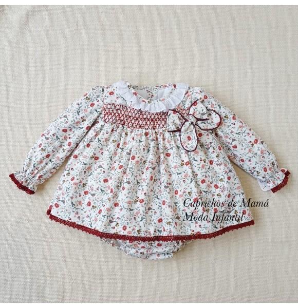 Jesusito bebé niña de Valentina bebés nidos florecitas
