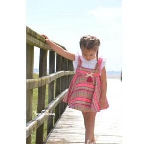 Conjunto niña pichi y blusa Renata de Noma Fernández
