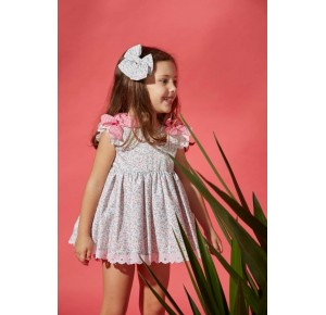 Jesusito niña Alanna de Eva Castro liberty rosa