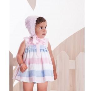 Jesusito bebé niña Arco Iris de Kauli rosa bebé