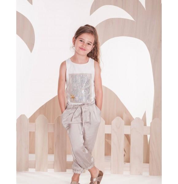 Conjunto niña camiseta y pantalón Sahara de Kauli