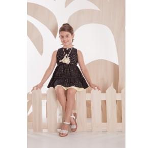 Vestido niña negro Street de Kauli