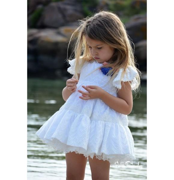 Vestido niña Lencera de Noma Fernández sin mangas