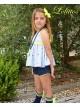 Conjunto niña blusón y short Star de Lolittos
