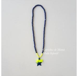 Collar marino y flúor Star de Lolittos