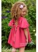 Vestido niña Lavanda de Lolittos recto plumeti