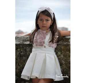 Conjunto niña blusa y falda Loira de Noma Fernández