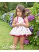 Jesusito niña Lavanda de Lolittos estampado flores